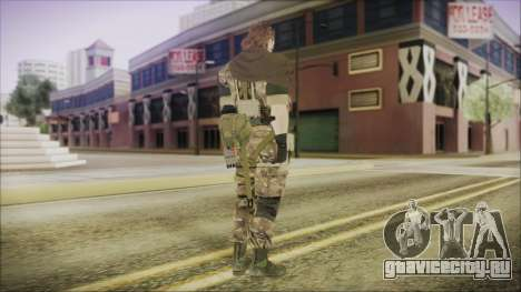 MGSV Phantom Pain Snake Scarf Wetwork для GTA San Andreas третий скриншот