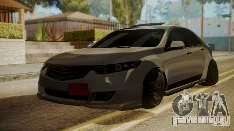 Honda Accord Type S 2008 RHBK для GTA San Andreas