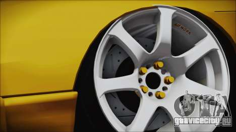 Nissan Onevia Type-X для GTA San Andreas вид сзади слева