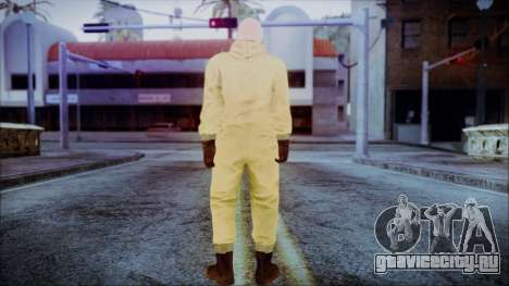 Walter White Breaking Bad Chemsuit для GTA San Andreas третий скриншот