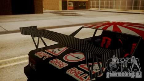 Sultan Full of Stickers для GTA San Andreas вид справа