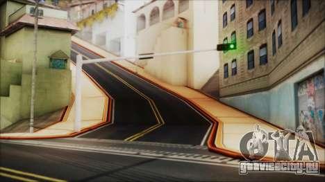 HD All City Roads для GTA San Andreas третий скриншот