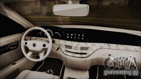 Carlsson Aigner CK65 RS v2 Headlights для GTA San Andreas вид справа
