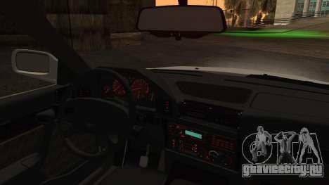 BMW 7-er E32 Stock для GTA San Andreas вид сзади слева