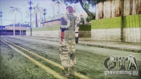 MGSV Phantom Pain Snake Normal Tiger для GTA San Andreas третий скриншот