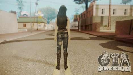 Tifa Black для GTA San Andreas третий скриншот