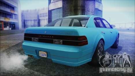 GTA 5 Karin Intruder для GTA San Andreas вид слева