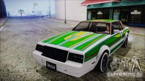 GTA 5 Willard Faction для GTA San Andreas вид изнутри