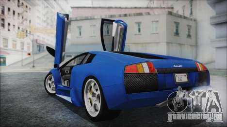 Lamborghini Murcielago 2005 Yuno Gasai HQLM для GTA San Andreas вид слева