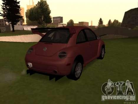 VW New Beetle 2004 Tunable для GTA San Andreas вид справа