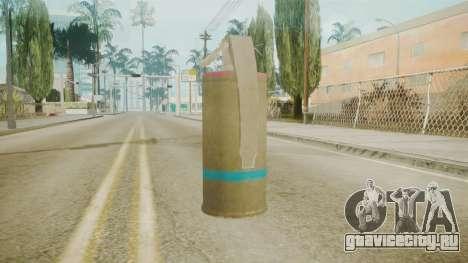 GTA 5 Tear Gas для GTA San Andreas второй скриншот