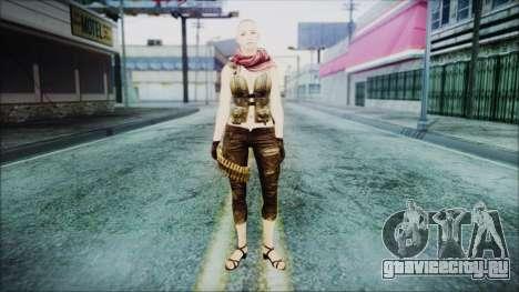 Mila Short Hair from Counter Strike для GTA San Andreas второй скриншот