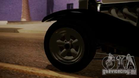 GTA 5 Albany Franken Stange IVF для GTA San Andreas вид сзади слева