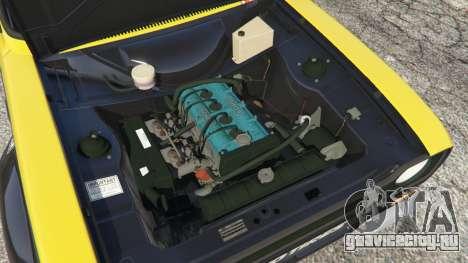 Ford Escort MK1 v1.1 [26] для GTA 5 вид сзади справа