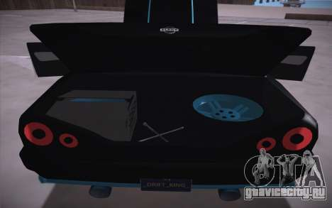 Elegy DRIFT KING GT-1 (Stok wheels) для GTA San Andreas вид изнутри