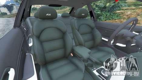 BMW M3 (E46) для GTA 5 вид справа