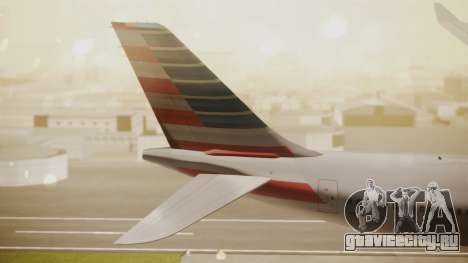 Airbus A330-300 American Airlines для GTA San Andreas вид сзади слева