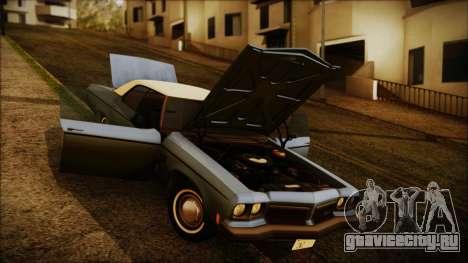 Oldsmobile Delta 88 1973 Final для GTA San Andreas вид справа
