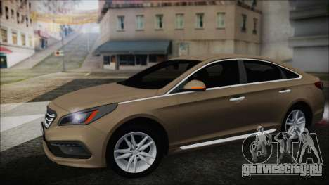 Hyundai Sonata 2015 для GTA San Andreas