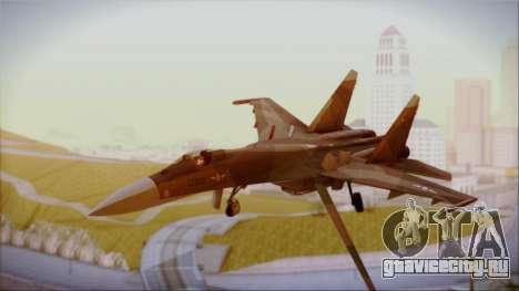 SU-27 Flanker A Philippine Air Force для GTA San Andreas
