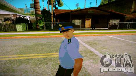 Сотрудник Юстиции МВД v2 для GTA San Andreas второй скриншот