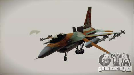 F-16C Block 25 Israeli Air Force для GTA San Andreas