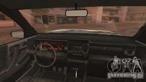 GTA 5 Declasse Granger Civilian IVF для GTA San Andreas вид справа