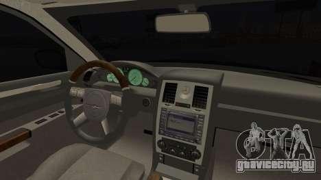 Chrysler 300С Unalturan для GTA San Andreas вид справа