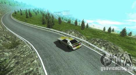 Stelvio Pass Drift Track для GTA San Andreas второй скриншот