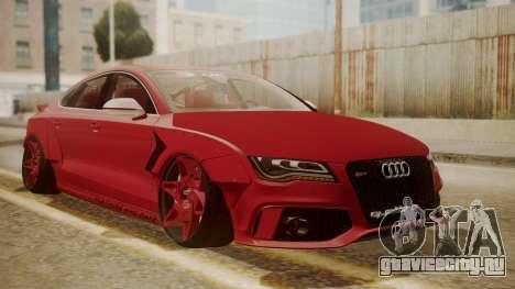Audi RS7 X-UK L3D для GTA San Andreas