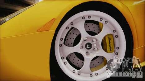 Lamborghini Murcielago 2005 Yuno Gasai IVF для GTA San Andreas вид сзади слева
