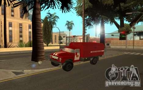ЗиЛ 130 МЧС Украина для GTA San Andreas