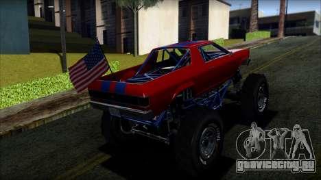 GTA 5 Cheval Marshall IVF для GTA San Andreas вид слева
