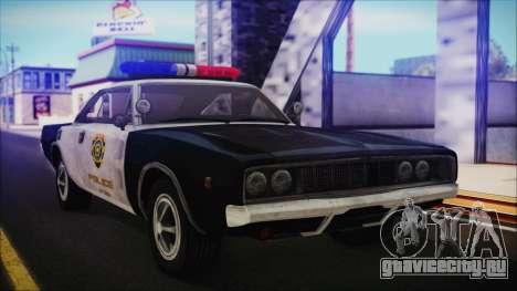Police Car R.P.D. from RE 3 Nemesis для GTA San Andreas