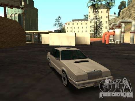 Chrysler New Yorker 1988 для GTA San Andreas вид сверху
