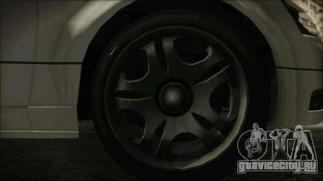 GTA 5 Karin Intruder IVF для GTA San Andreas вид сзади слева