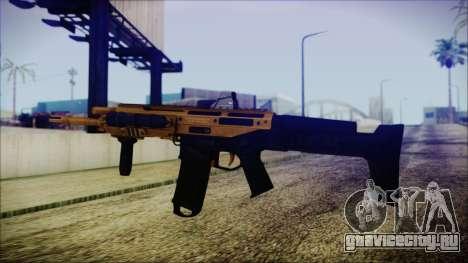Bushmaster ACR Gold для GTA San Andreas второй скриншот
