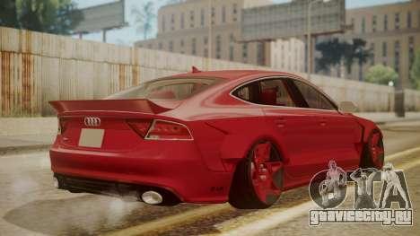 Audi RS7 X-UK L3D для GTA San Andreas вид слева
