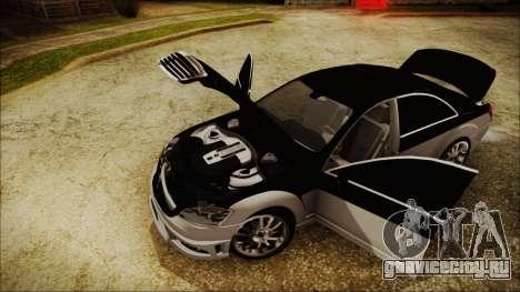 Carlsson Aigner CK65 RS v2 Headlights для GTA San Andreas вид сзади