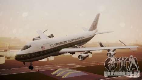 Boeing 747-200 Evergreen International Airlines для GTA San Andreas