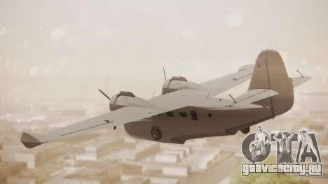 Grumman G-21 Goose Paintkit для GTA San Andreas вид слева