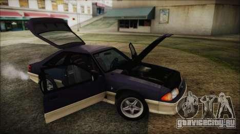 Ford Mustang Hatchback 1991 v1.2 для GTA San Andreas вид справа
