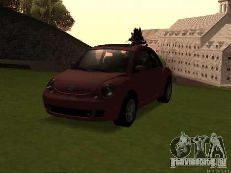 VW New Beetle 2004 Tunable для GTA San Andreas