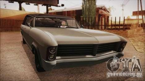 GTA 5 Albany Lurcher Bobble Version IVF для GTA San Andreas вид сзади слева