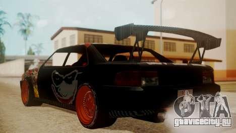 Sultan Full of Stickers для GTA San Andreas вид слева