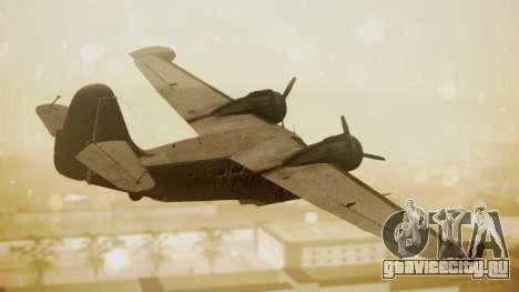 Grumman G-21 Goose N56621 Rusty для GTA San Andreas вид слева