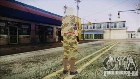 Home Girl Camo для GTA San Andreas третий скриншот