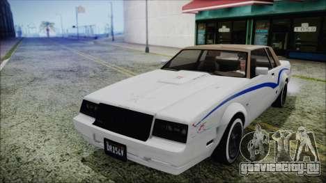GTA 5 Willard Faction Custom для GTA San Andreas вид сбоку