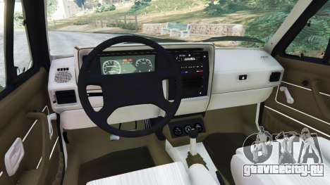 Volkswagen Rabbit 1986 v2.0 для GTA 5 вид сзади справа