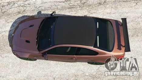 BMW M3 (E92) GTS v0.1 для GTA 5 вид сзади